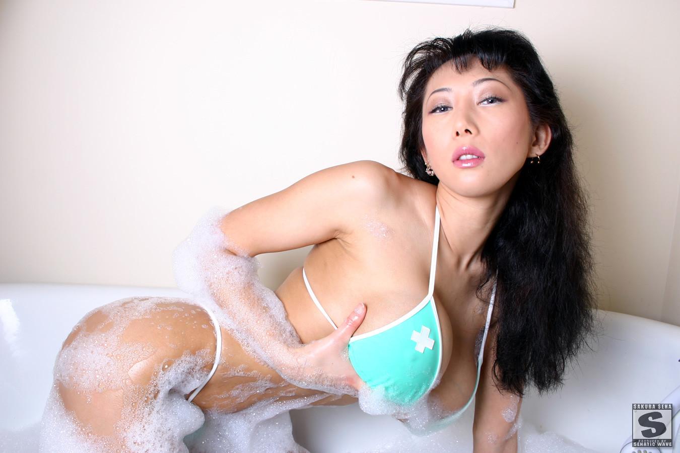 Смотреть порно онлайн sakura sena, Большие Сиськи Азиатки Sakura Sena Asian Big Tits 2 фотография