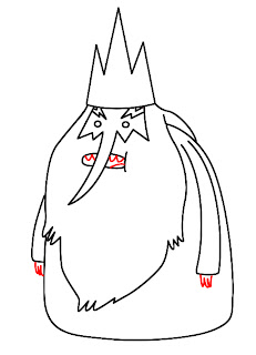 How To Draw Ice King Adventure Time Step 6