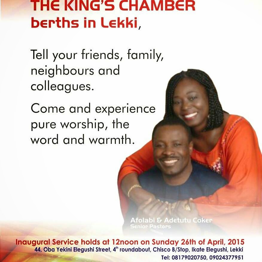 The Kings chamber berths in lekki.