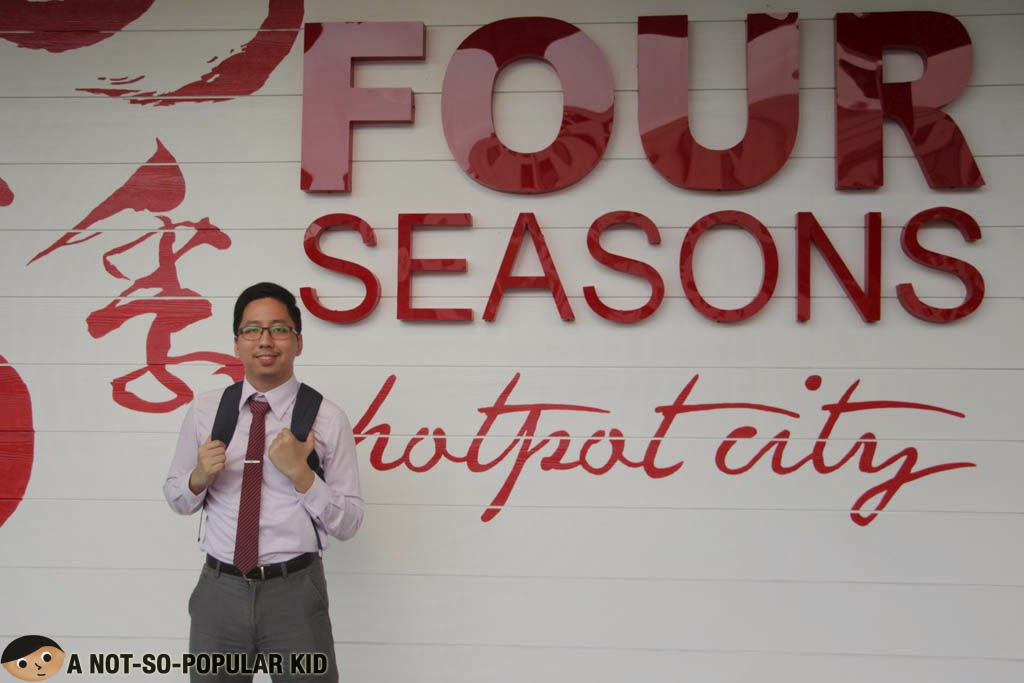 Renz Kristofer Cheng in Four Seasons Buffet