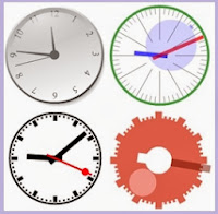 аналоговые часы для Blogger