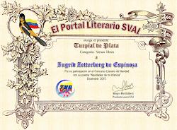 Diploma Segundo lugar