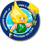 ARION: O MASCOTE DOS 5º JOGOS MUNDIAIS MILITARES RIO2011!!!!