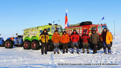 Toyota Engine,North Pole,Driving Across Ocean,Russian scientists,MLAE