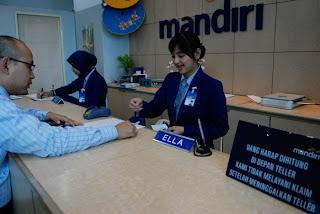 Mudahnya transaksi di Bank Mandiri