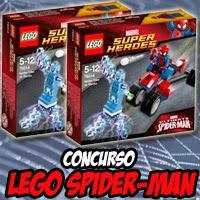 """Concurso: Regalamos dos sets de Lego sobre """"Spider-Man y Electro"""""""