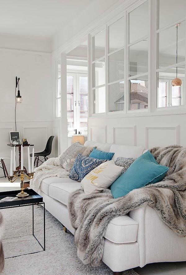 apartamento blanco white house homepersonalshopper decoracion