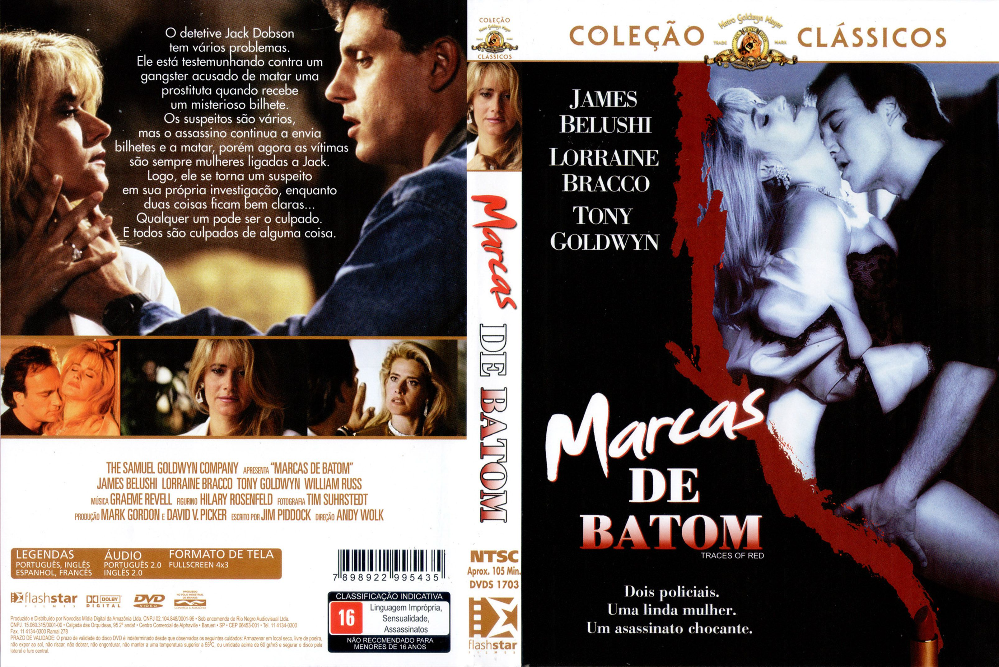 Capa DVD Marcas De Batom