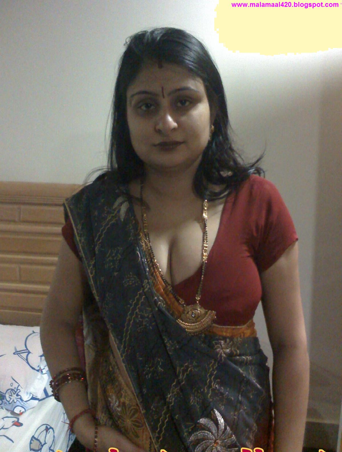 Mallu Aunty In Orange Hot Blouse & Bra Hot Sexy Pictures & Hot Sexy ...