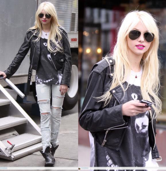 Street Style: Taylor Momsen