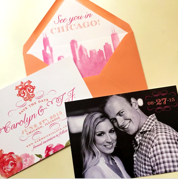 Custom Save the Dates