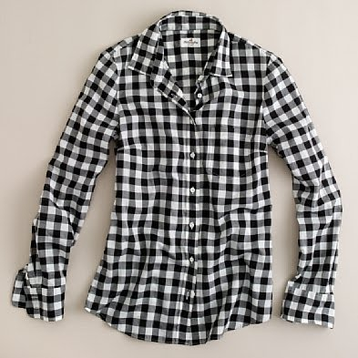All things simplified you look very familiar have i for Black and white checker shirt