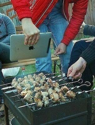 Appli Ipade pour barbecue, comme quoi certaine applis servent vraiment à quelque chose
