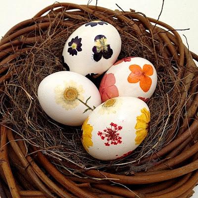 Rook No.17 Pressed Flower Easter Egg Tutorial