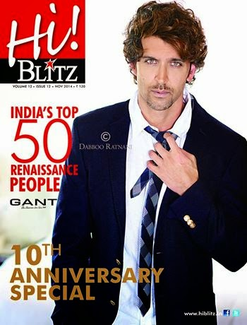 Hrithik Roshan For Hi! BLITZ 10th Anniversary Special Issue photo shoot