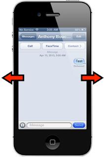 Cara Beraliih Antar Pembicaraan Dengan Sekali Swipe Di iPhone