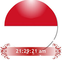 Widget jam untuk blog