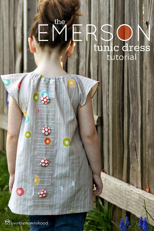 Платье туника для девочки сшить