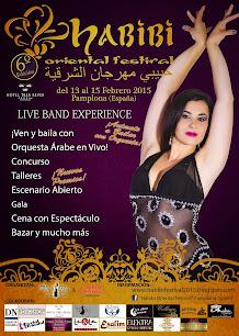 """14 y15 de Febrero 2015 """" HABIBI FESTIVAL PAMPLONA"""""""
