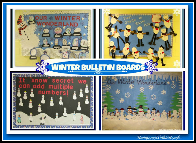 photo of: Winter Bulletin Boards from Winter RoundUP at RainbowsWithinReach