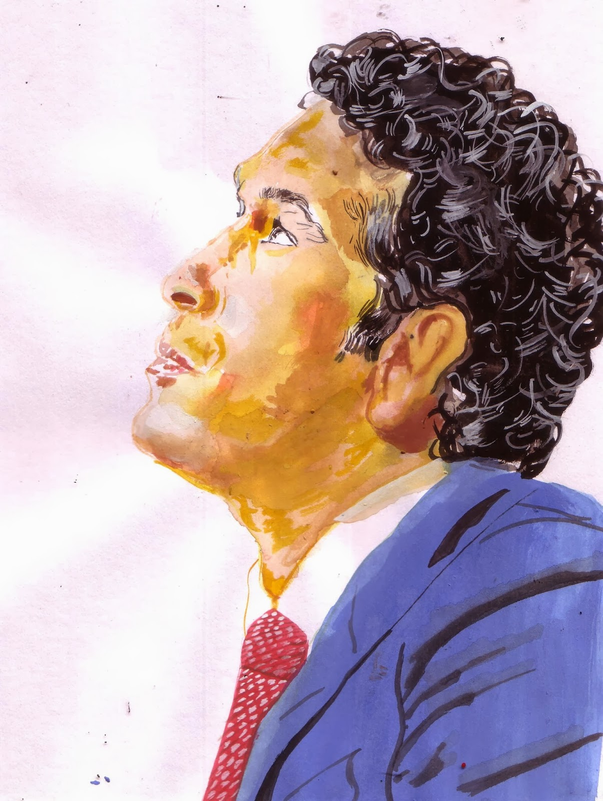 Sachin Tendulkar, Image courtesy artist