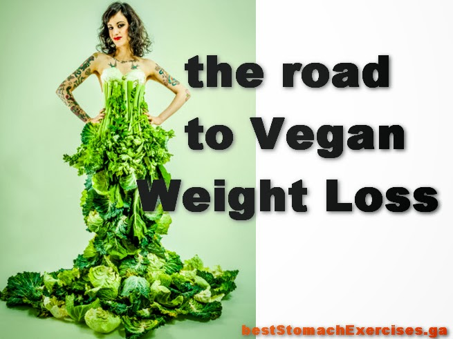 the road to Vegan Weight Loss
