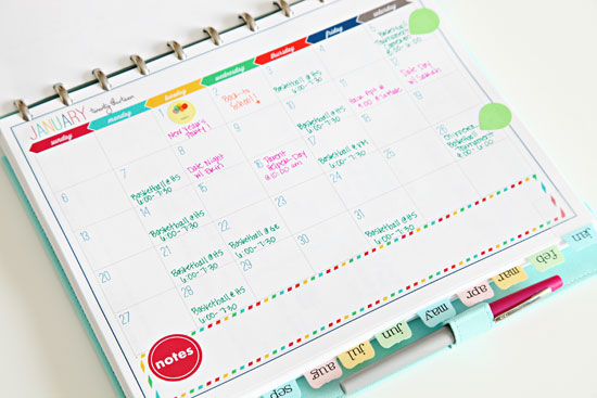Revered image within diy daily planner