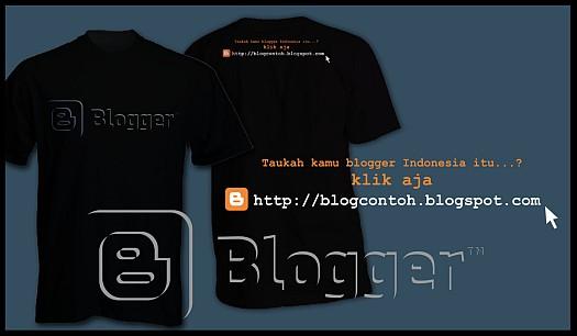 kaos blogger keren
