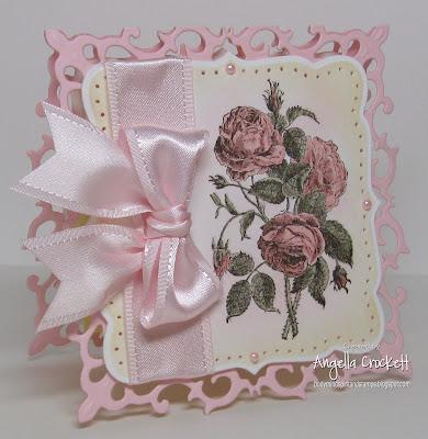 LaBlanche Stamps,  Card Designer Angie Crockett