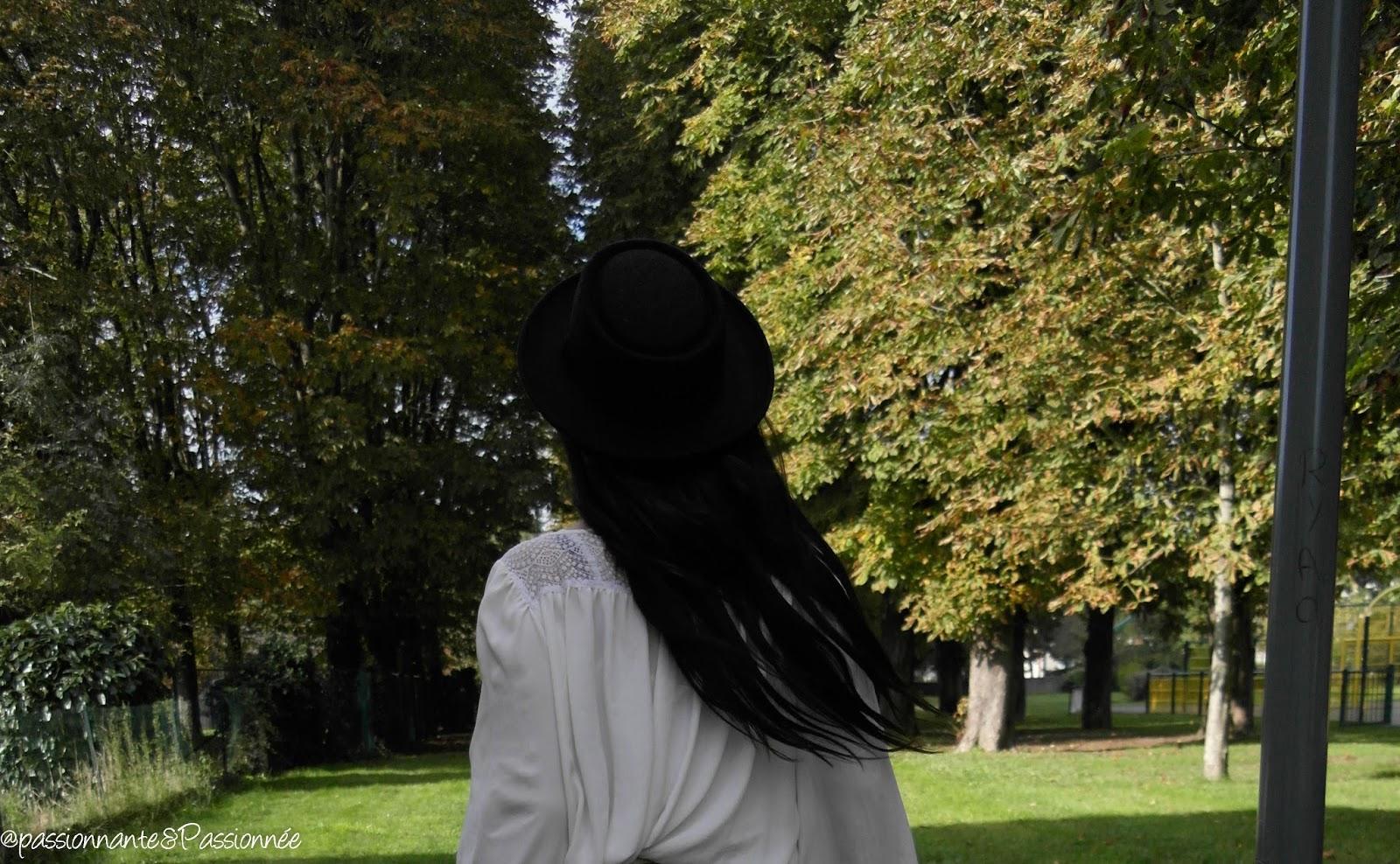 jupe noire & or