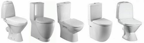 Как выбрать унитаз в ванную комнату