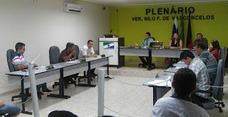 Câmara Municipal de Baraúna realizou reunião ordinária na sexta (13)