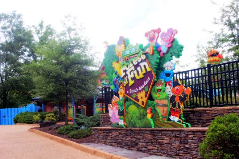 A Day at Busch Gardens Theme Park in Williamsburg VA sponsored