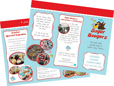 Custom brochures at Creative Printing of Bay County