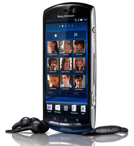 Spesifikasi Harga Sony Ericsson Xperia Neo