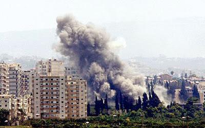 la proxima guerra del libano edificios bombardeados por israel