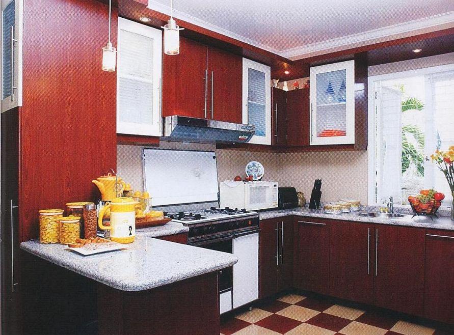 kreativitas interior untuk dapur minimalis tampak rapi