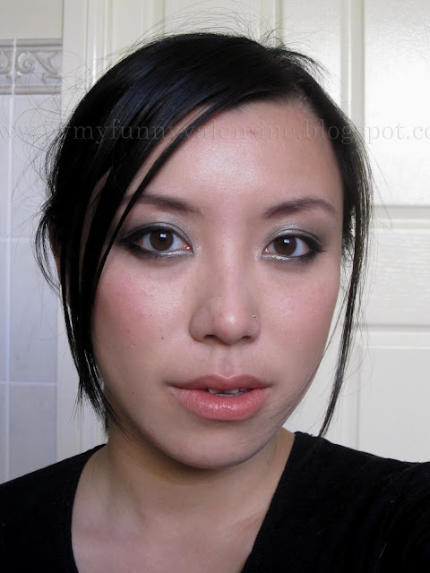 Chanel Fall 2011 runway inspired FOTD with Erika F green silver taupe eye shadow