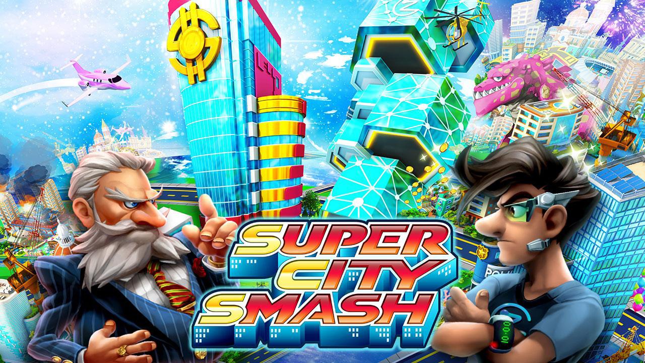 Super City Smash Gameplay IOS / Android