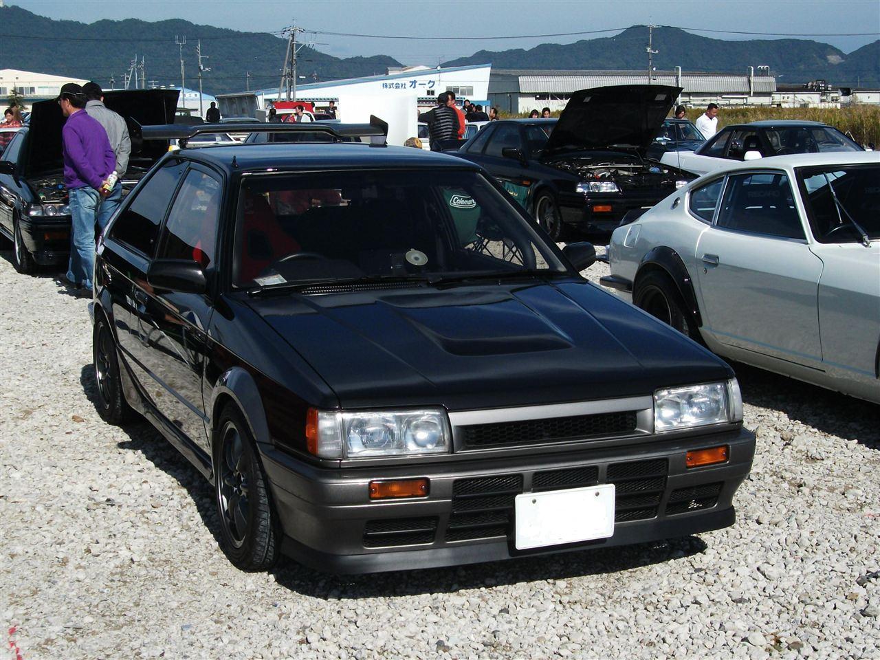Mazda 323 BF, Familia, sportowy hatchback, japoński samochód, tuning, fotki, JDM, stary