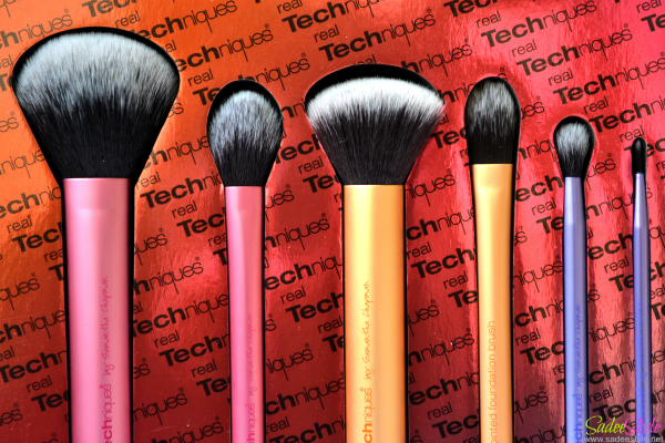 Sam Pick's Real Techniques Brushes - Review