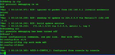 konfigurasi md5 pada R2