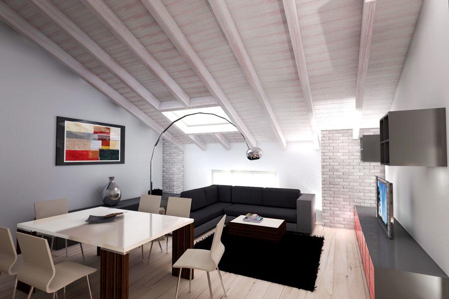 Rendering 3d rendering interni for 3d interni