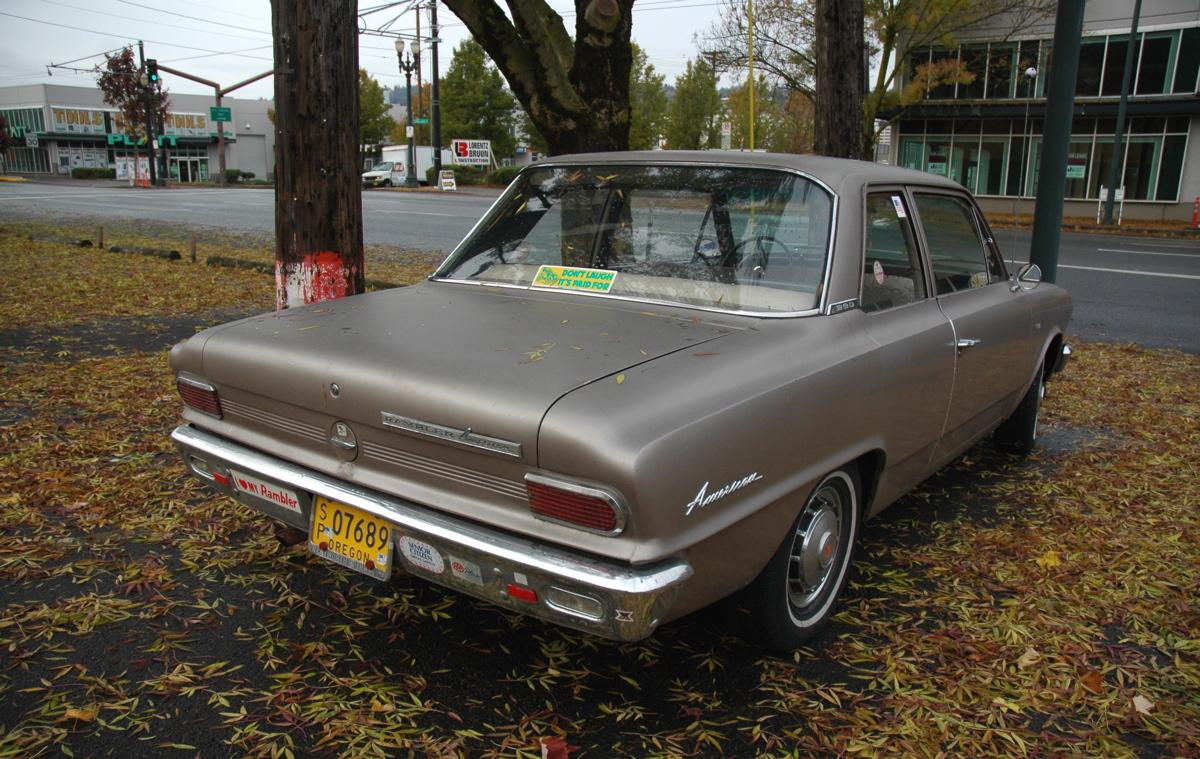 old parked cars 1965 rambler american. Black Bedroom Furniture Sets. Home Design Ideas