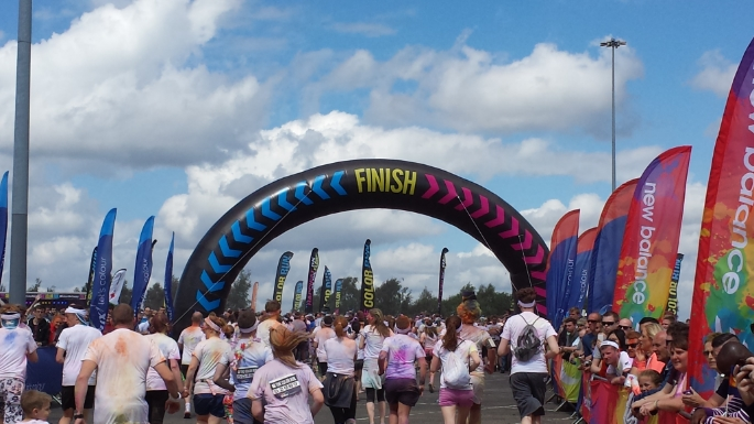 The Color Run in Manchester // Within My Locket