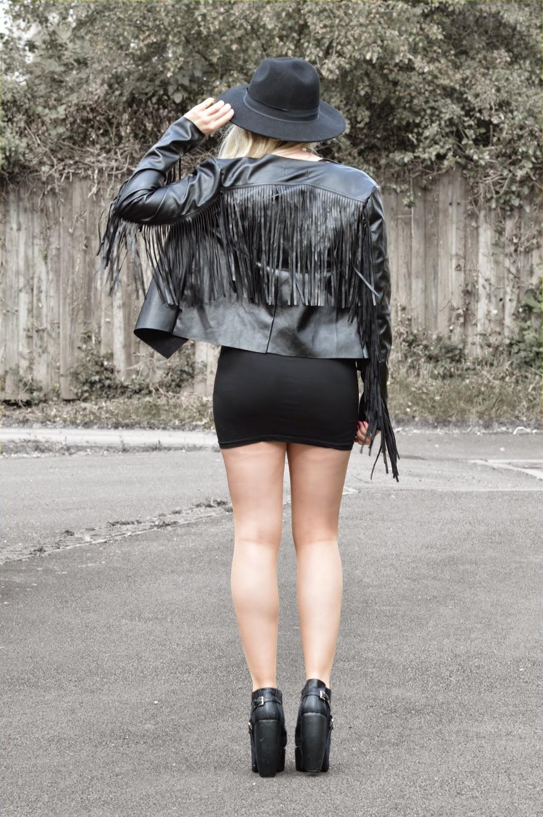 Sammi Jackson - Fringed Jacket