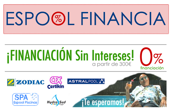 Financiación de Piscinas Sin Intereses - espoolpiscinas.com