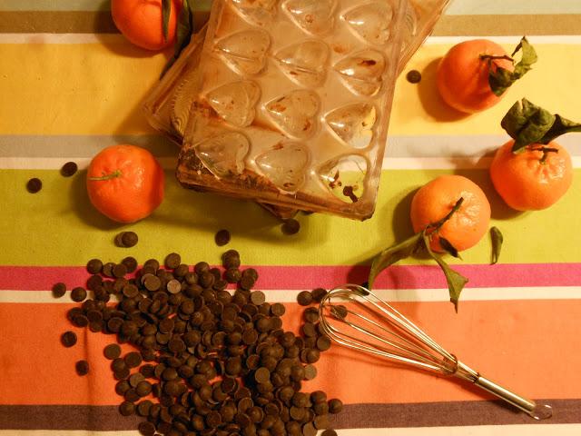 recette de ganache infusée à l'huile essentielle d'orange douce