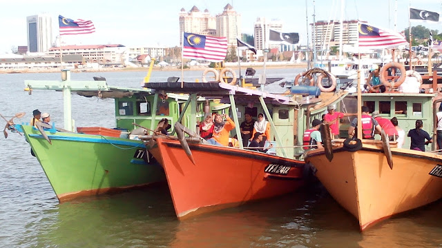 Terengganu International Squid Jigging Festival 2015