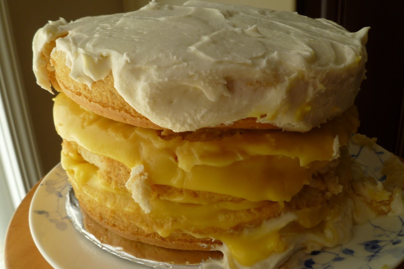 Fresh Lemon Drop Cake Recipe